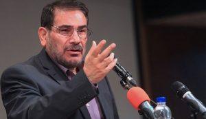 امين المجلس الاعلى للامن القومي الايراني علي شمخاني -صورة ارشيفية