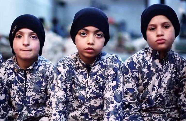 "Watch: Killer Kids of ""Caliphate"", Next ISIS Gens Serious Weapons"