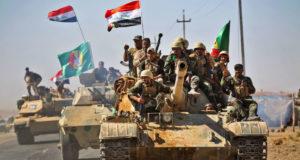الحشد و القوات العراقية في كركوك