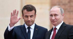 ماكرون و بوتين