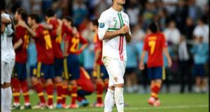 رونالدو ومنتخب اسبانيا